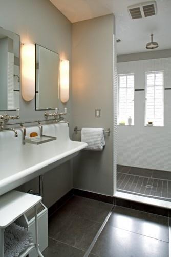 Long Sinks Bathrooms : Super long sink. Bathroom remodel Pinterest