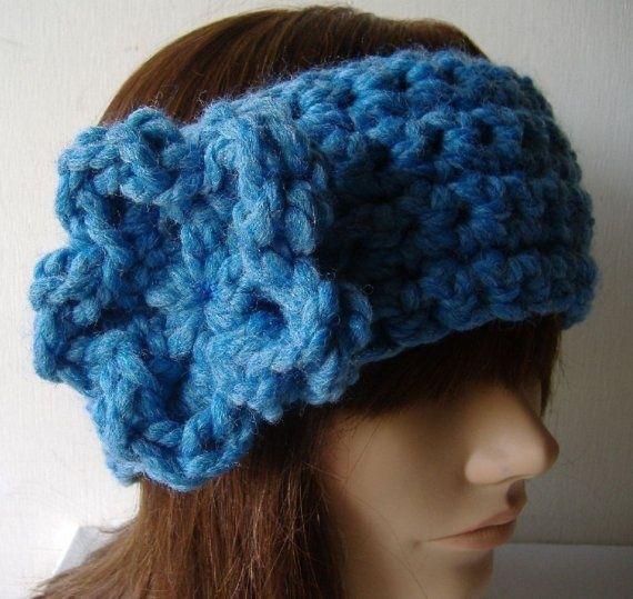 Ear Warmer Loom Knitting Pattern : knifty knitter Ear warmer headband Knifty Knitter projects Knit Loom ...