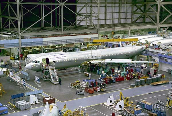 Boeing airplane programs manufacturing site renton washington next