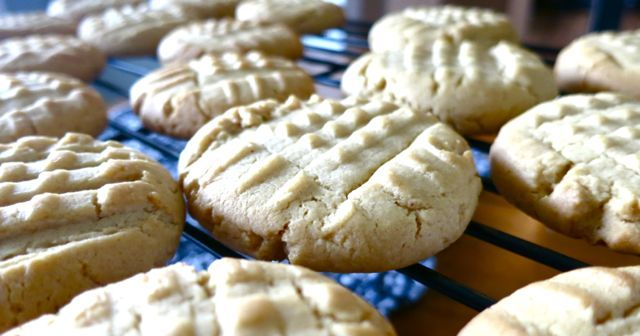 ... cookies...these are BEST EVER Homemade Peanut Butter Cookies from @