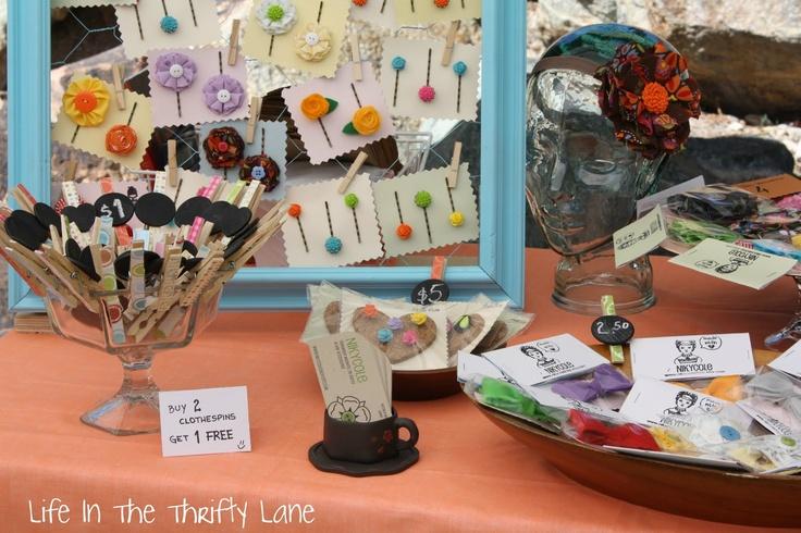 craft show booth display ideas pinterest. Black Bedroom Furniture Sets. Home Design Ideas