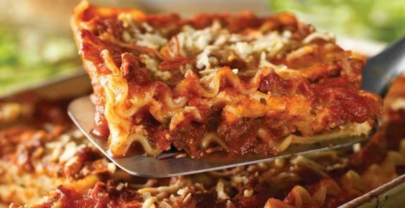 Classic Cheese Lasagna I use Brad's organic sauce