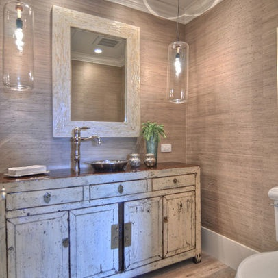 Wallpaper Powder Room Design Ideas Wallpaper Pinterest