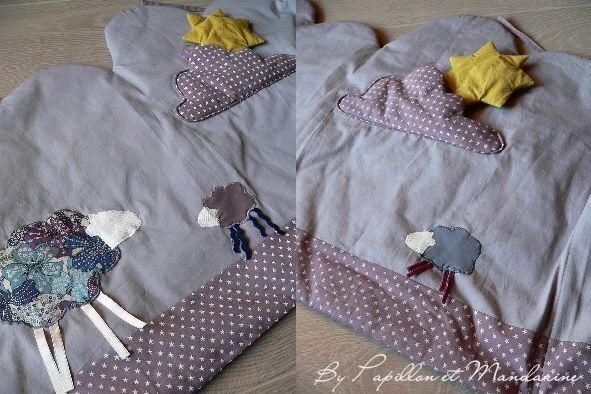 tour de lit nuage id e couture baby pinterest. Black Bedroom Furniture Sets. Home Design Ideas