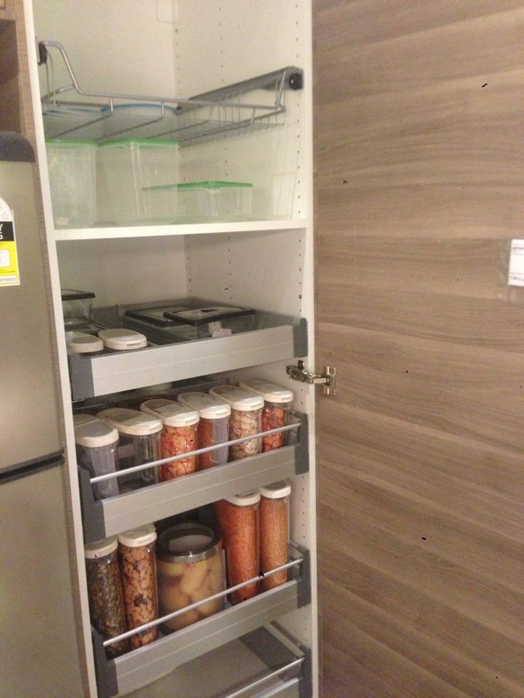 Pantry ikea house ikea pinterest - Ikea kitchen pantry ...