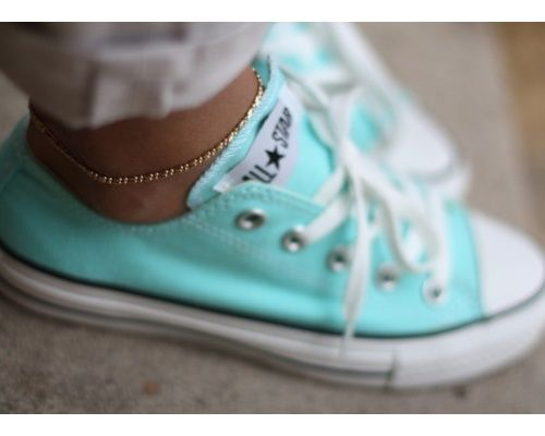 Breakfast in my Tiffany Blue Shoes. Pretty sure I need these tennies...