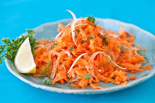 La Tartine Gourmande's French Carrot Fennel Salad, via Steamy Kitchen