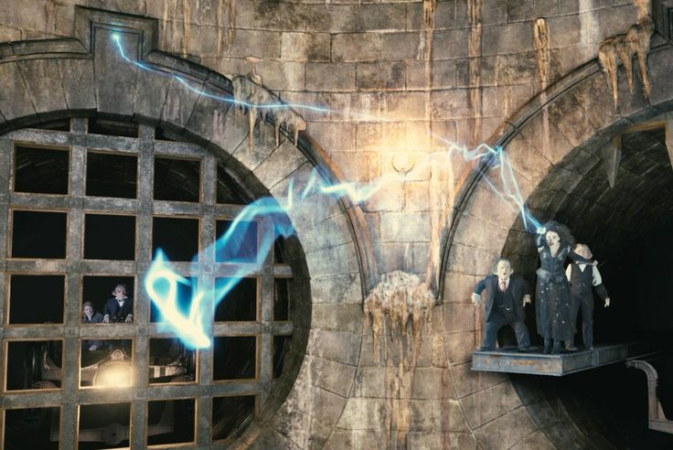 Harry Potter and the Escape from Gringotts in Diagon Alley
