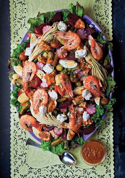 Fiambre (Guatemalan Composed Salad) by saveur #Salad #Guatemalan #saveur
