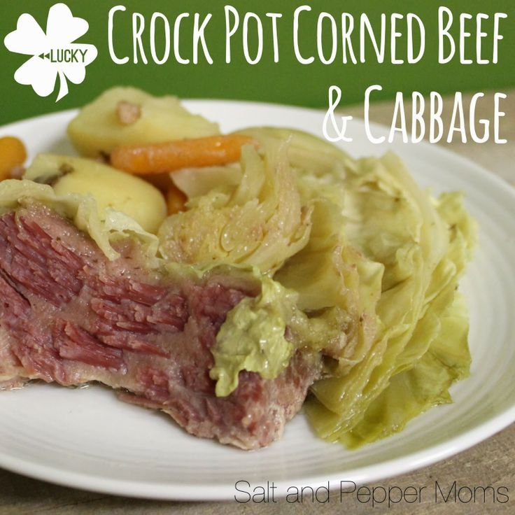 Crock Pot Corned Beef And Cabbage Recipe — Dishmaps