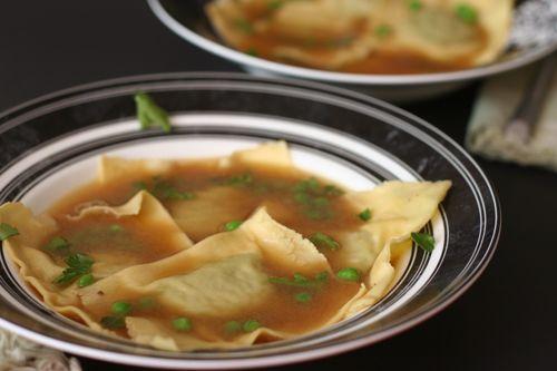 Green Pea Ravioli in Lemon Broth | Recipes | Pinterest