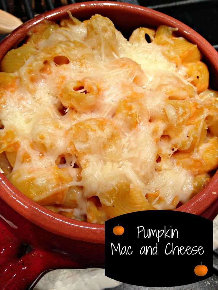 Pumpkin Mac and Cheese | Everything Pumpkin | Pinterest
