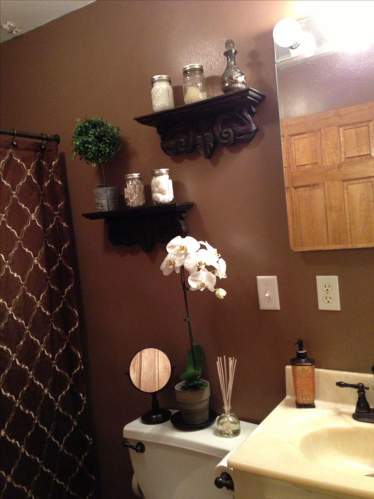diy bathroom decor pinterest bathroom decor diy brown