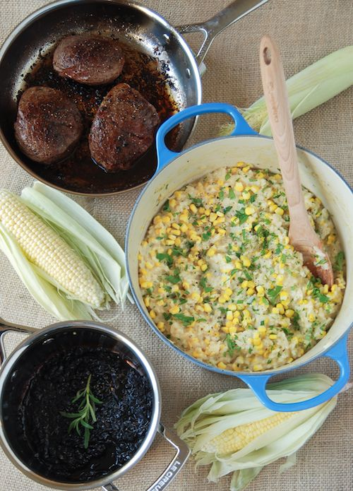 Sweet Corn Risotto 7 tablespoons unsalted butter, divided 2 ...