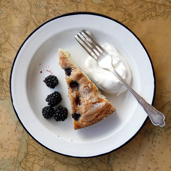 Buttermilk Cake with Blackberries // More Recipes Using Blackberries ...