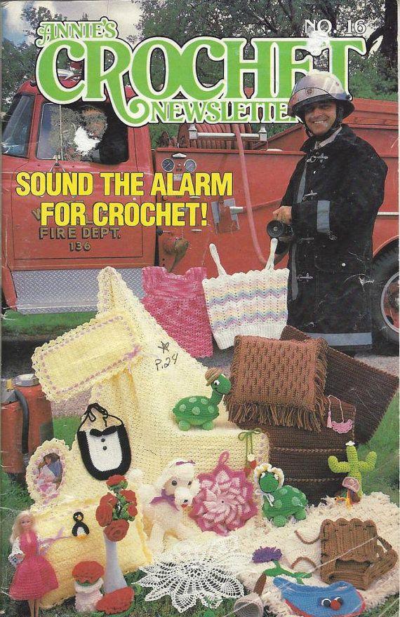 Annies Crochet Newsletter no.16 July/August 1985 PDF by vestraera, $3 ...