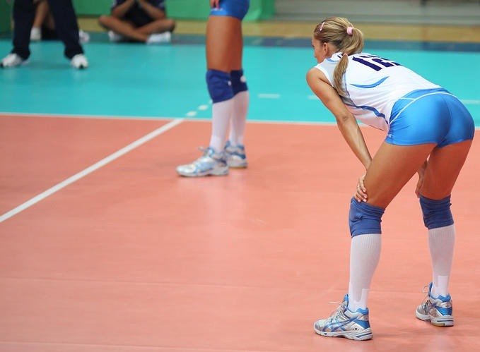 Volleyball player francesca piccinini you