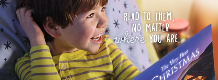 Recordable Storybooks help you read to them, no matter where you are.