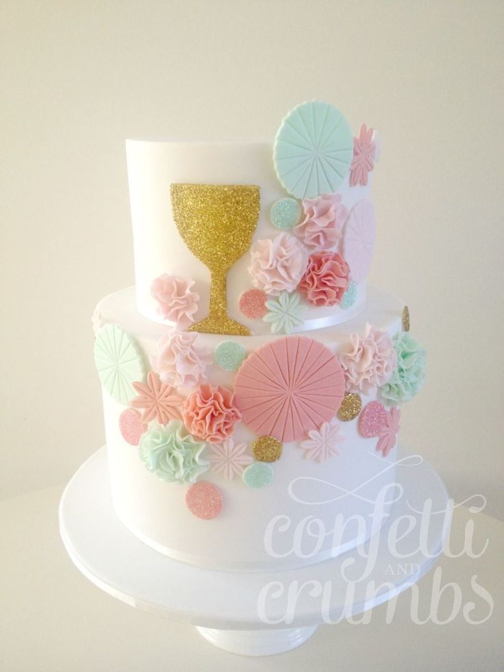 First holy communion cake photo only communion pinterest for 1st holy communion cake decoration ideas
