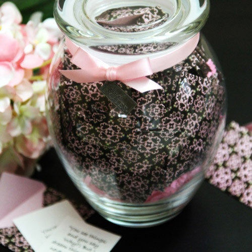 notes in a jar