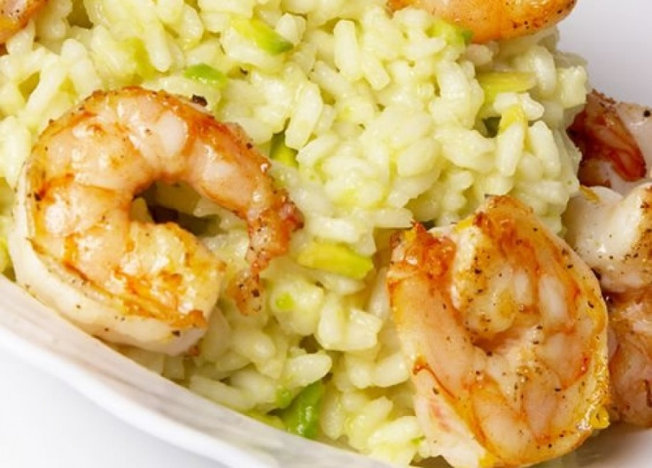 Shrimp Risotto With Shrimp Recipe