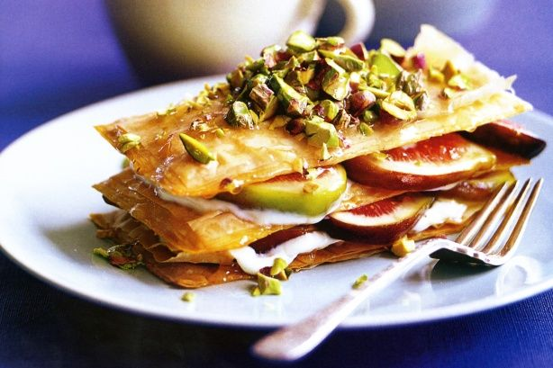 ... phyllo fig phyllo breakfast stacks recipes dishmaps fig phyllo