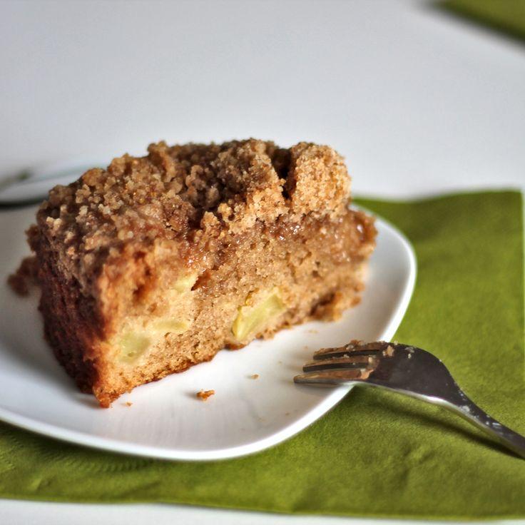 Homemade Apple Crumble Coffeecake - Easy Apple Crumble #recipe. You ...