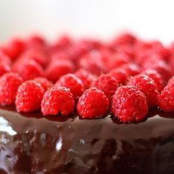 Belinda Jeffery's Flourless Chocolate, Pecan and Raspberry Torte