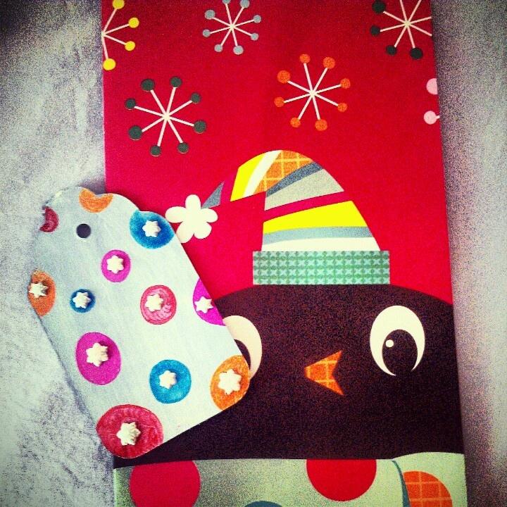 Custom gift tags | Christmas Cards | Pinterest