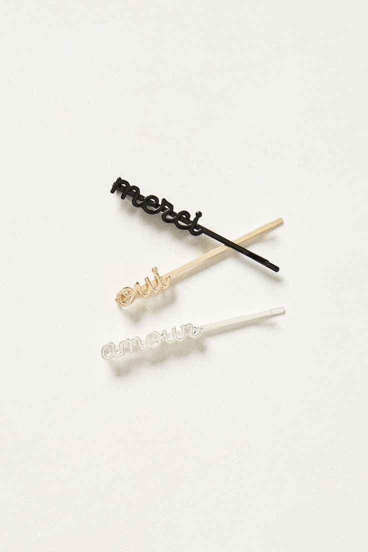 Holiday Bobby Pin Set - anthropologie.com