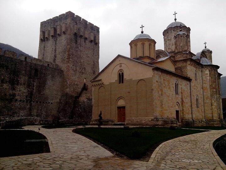 Manastir Manasija kod Despotovca. Zadužbina Despota Stefana Lazarevića.