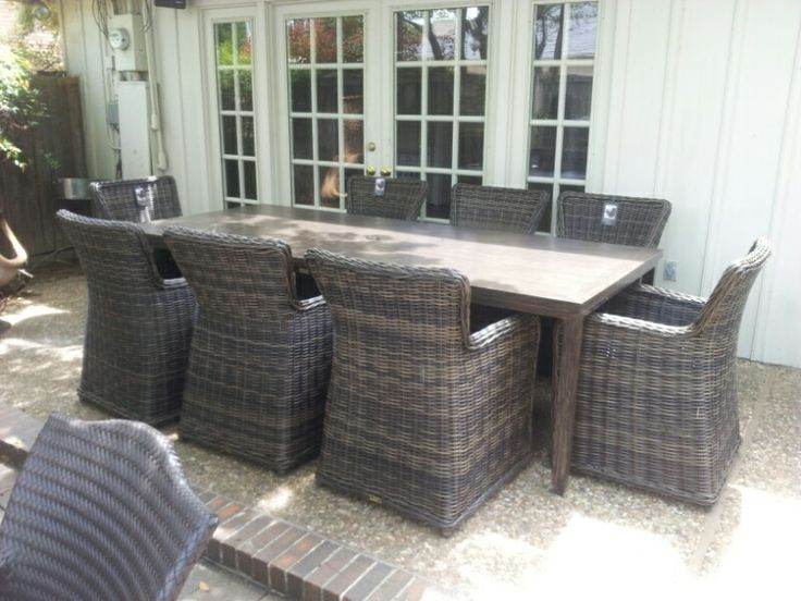 Greenville Woven by Patio Renaissance Outdoor Wicker
