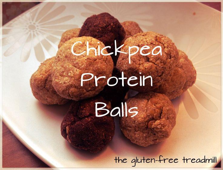 Chickpea Protein Balls (V, GF) | Baking - Sweets! | Pinterest