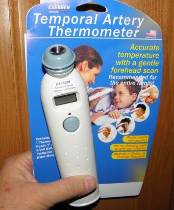 Exergen coupon thermometer
