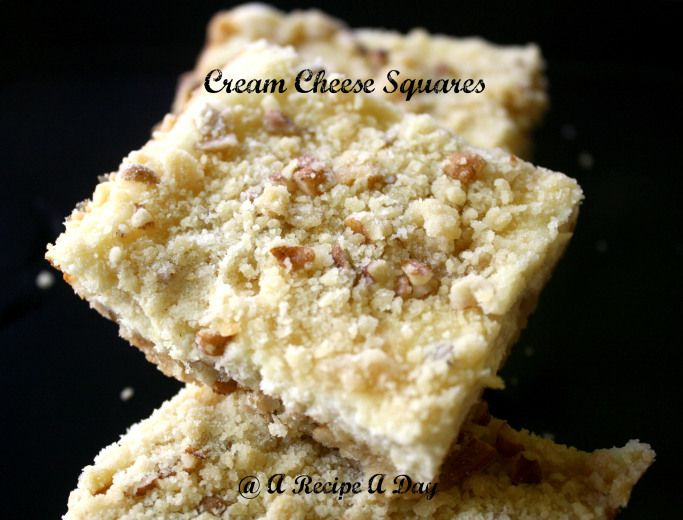 Cream Cheese Squares | Food Lover | Pinterest