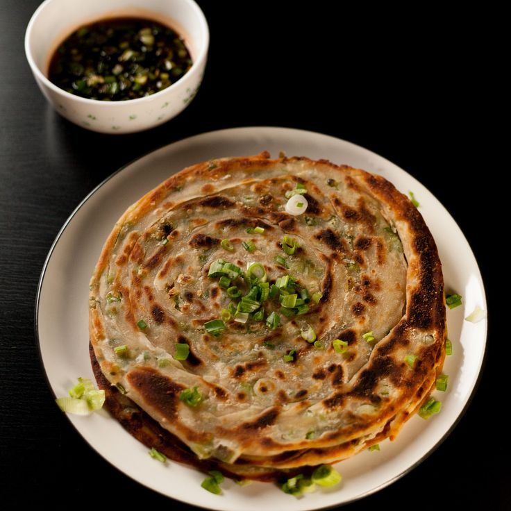 ... one heck extra flaky scallion pancakes and flaky scallion pancake