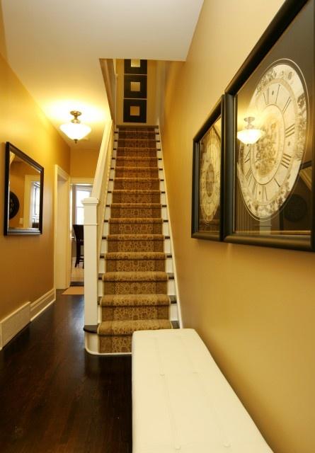 Narrow Foyer Stairs : Narrow steep staircase foyer entryway pinterest