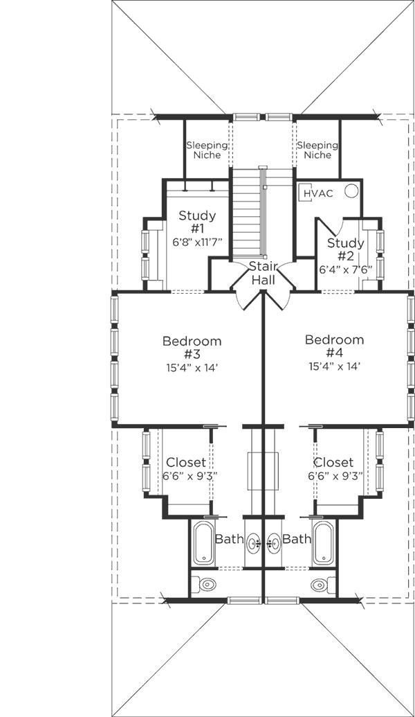 southern living upper level floor plan homes pinterest