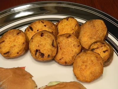 Grilled Sweet Potato Rounds | Food | Pinterest