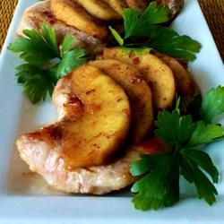 Caramel Apple Pork Chops | Healthy Delish | Pinterest