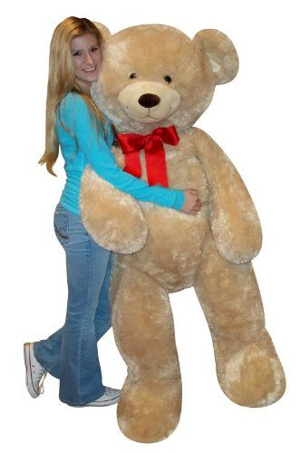 big stuffed bear for valentines day