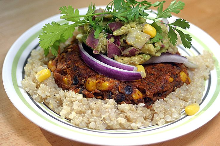 Sweet Potato Black Bean Burgers {Vegan}: This Week's Cravings ...