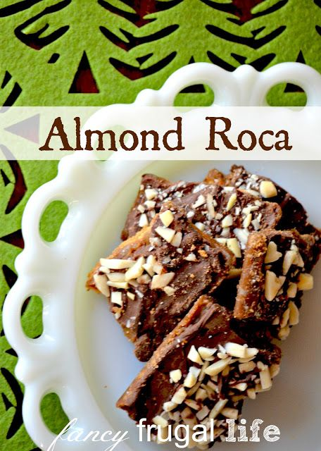 My Grandma Bonnie's Almond Roca Recipe | | Holidays - Christmas ...