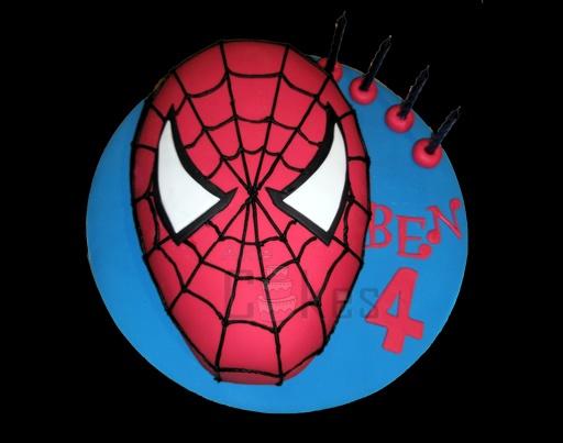 Spiderman Face Cake Design : Spiderman face cake Cake cake cake Pinterest