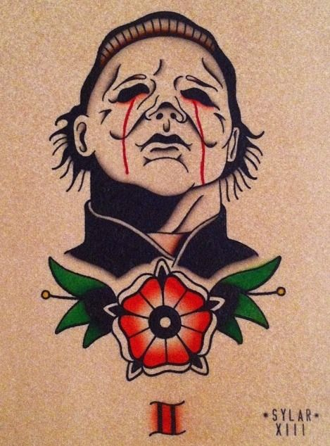 Michael Myers tattoo Halloween