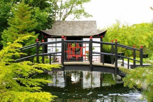 Japanese tea house decorations exterior design pinterest for Japanese tea house garden design