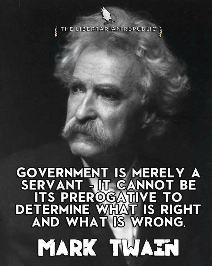 Libertarian Quotes Mark Twain. QuotesGram
