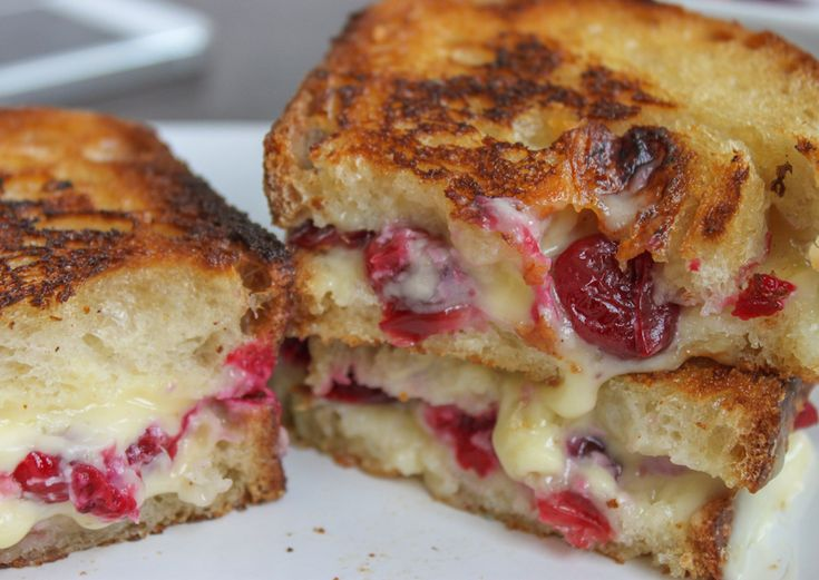 Roasted Cranberry & Brie Grilled Cheese. Video Recipe by Jerry James ...