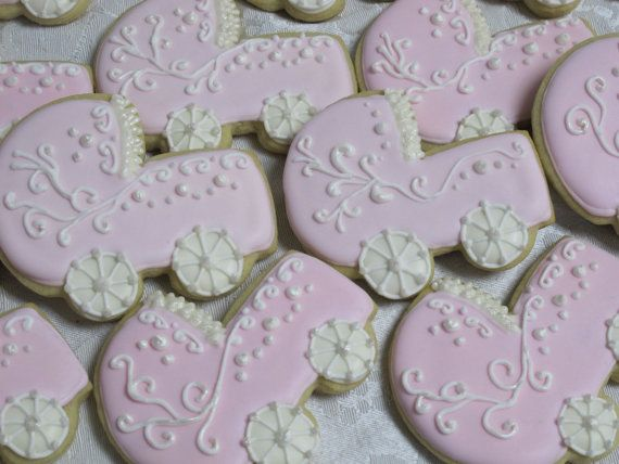 baby shower decorated sugar cookie collection