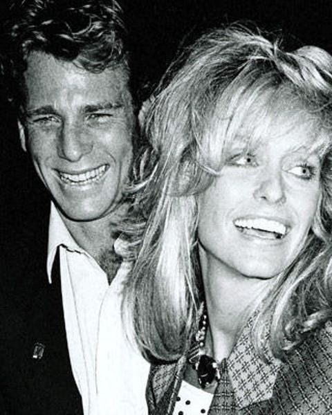 Farrah fawcett and ryan o neal f a r r a h pinterest for Farrah fawcett husband ryan o neal